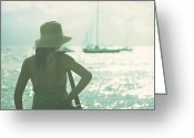Lahaina Greeting Cards - Lele Greeting Card by Sharon Mau