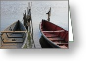 Italia Greeting Cards - Lesina - Apulia Greeting Card by Joana Kruse