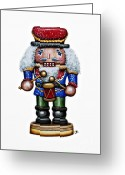 Festive Greeting Cards - Little Drummer Boy Greeting Card by Christina Meeusen