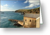 Kernow Greeting Cards - Lizard Point Greeting Card by Carl Whitfield