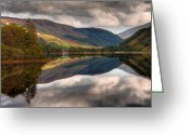 Gabor Pozsgai Greeting Cards - Loch Dughaill Scotland UK Greeting Card by Gabor Pozsgai