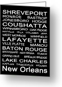 Ville Platte Greeting Cards - Louisiana Greeting Card by Cecil Fuselier
