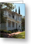 Edwardian Greeting Cards - Love This Neighborhood. Greeting Card by Glenn McCarthy Art and Photography