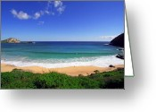 Boogie Board Greeting Cards - Makapuu Beach Greeting Card by Kevin Smith