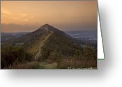 Mound Greeting Cards - Malvern Hill Greeting Card by Angel  Tarantella