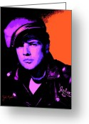Marlon Brando Greeting Cards - Marlon Brando 1 Greeting Card by John Keaton