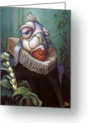 Lips  Greeting Cards - Marquis de Sole Greeting Card by Patrick Anthony Pierson