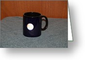 Surrealism Ceramics Greeting Cards - Mars Custom photo reproduction Coffee mug- Side A Greeting Card by Ryan Demaree