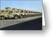 Armored Vehicles Greeting Cards - Maxxpro Mine Resistant Ambush Protected Greeting Card by Stocktrek Images