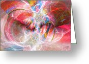 Christian Chapman Greeting Cards - Metamorphosis  Greeting Card by Margie Chapman