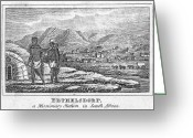 Missionary Greeting Cards - Missionary Station, 1832 Greeting Card by Granger