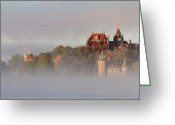 Alexandria Greeting Cards - Morning has Broken Greeting Card by Lori Deiter