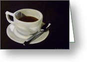 Kitchen Ware Greeting Cards - Morning Joe Greeting Card by Anne Barberi