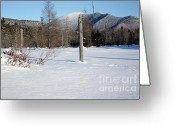 Grafton County Greeting Cards - Mount Carrigain - White Mountains New Hampshire USA Greeting Card by Erin Paul Donovan