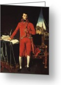 Napoleon Painting Greeting Cards - Napoleon Bonaparte Greeting Card by War Is Hell Store