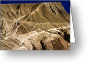 Nazca Greeting Cards - Nasca Lines Greeting Card by Armin Grun