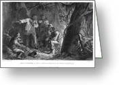 Rebellion Greeting Cards - Nat Turner (1800-1831) Greeting Card by Granger