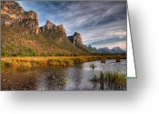 National Digital Art Greeting Cards - National Park Greeting Card by Adrian Evans