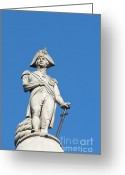 Trafalgar Greeting Cards - Nelson Greeting Card by Andrew  Michael