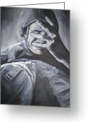 Ptsd Greeting Cards - Never Forgotten Greeting Card by Jeff Stephens