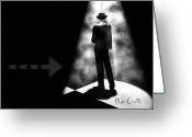 Surreal Photo Greeting Cards - No One There Greeting Card by Bob Orsillo
