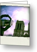 Ile De France Greeting Cards - Notre Dame de Paris. France Greeting Card by Bernard Jaubert