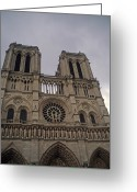 National Treasure Greeting Cards - Notre Dame Greeting Card by Robert  Torkomian