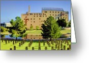 Survivor Greeting Cards - Oklahoma City National Memorial Greeting Card by Ricky Barnard