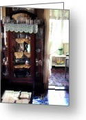 Genteel Greeting Cards - Old Home in Panama Greeting Card by Erik Falkensteen