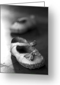 Kid Photo Greeting Cards - Old shoes Greeting Card by Jane Rix