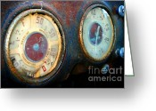 Indicator Greeting Cards - Old Speed Greeting Card by Henrik Lehnerer