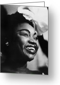 Singer Songwriter Greeting Cards - Oumou Sangarare (1968- ) Greeting Card by Granger