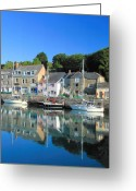 Kernow Greeting Cards - Padstow Greeting Card by Carl Whitfield