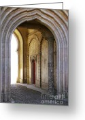Heritage Greeting Cards - Palace arch Greeting Card by Carlos Caetano