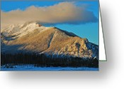 Bob Berwyn Greeting Cards - Peak One Greeting Card by Bob Berwyn