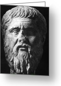 4th Greeting Cards - PLATO (c427 B.C.-c347 B.C.) Greeting Card by Granger