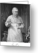 Signature Greeting Cards - Pope Pius Ix (1792-1878) Greeting Card by Granger