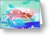 Engine Greeting Cards - Porsche 911  Greeting Card by Irina  March
