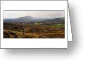 Misty Prints Prints Greeting Cards - Posts Greeting Card by Paul  Mealey