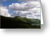 Mountain Summit Greeting Cards - Presidential Range - White Mountains New Hampshire USA Greeting Card by Erin Paul Donovan
