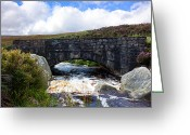 Winding Road Greeting Cards - PS I Love You Bridge in Ireland Greeting Card by Semmick Photo