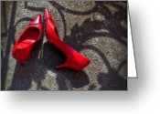 High Heels Greeting Cards - Pumps Greeting Card by Joana Kruse