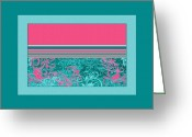 Vibrant Colors Greeting Cards - Pure Joy Greeting Card by Bonnie Bruno