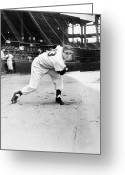 Brooklyn Dodgers Stadium Greeting Cards - Ralph Branca (1926- ) Greeting Card by Granger