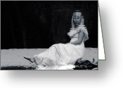 Blonde Photo Greeting Cards - Reflection Greeting Card by Joana Kruse
