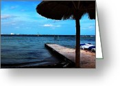Beach Landscapes Greeting Cards - Relax Greeting Card by Jerry Cordeiro