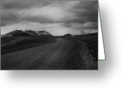 Andes Greeting Cards - Road to Chacaltaya Greeting Card by Amarildo Correa