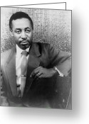 Black Tie Greeting Cards - Robert Mcferrin (1921-2006) Greeting Card by Granger