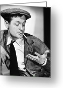 Smoker Greeting Cards - Robert Montgomery Greeting Card by Granger