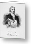 Signature Greeting Cards - Robert R. Livingston Greeting Card by Granger